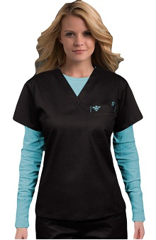 Scrubs new: Med Couture Women's 1 Pocket Top