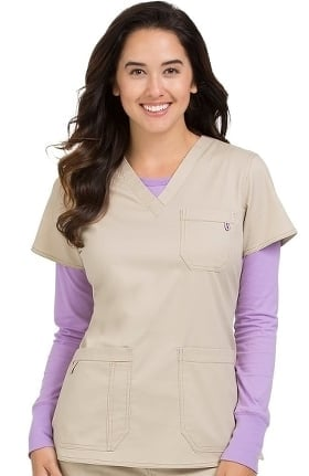 Clearance MC2 by Med Couture Women's Niki V-Neck Scrub Top