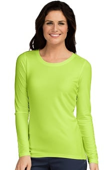 Med Couture Women's Performance Long Sleeve Underscrub T-Shirt