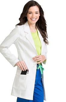 Clearance Peaches Uniforms Women's Princess Seam 30&Quot; Lab Coat