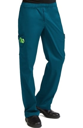 Clearance MC2 for Men by Med Couture Fly Front Cargo Scrub Pant
