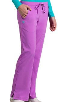 Clearance Med Couture Gold Women's Resort Solid Scrub Pant
