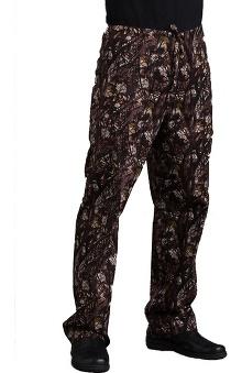 unisex pants: Med Couture Unisex Straight Leg Cargo Pocket Scrub Pant