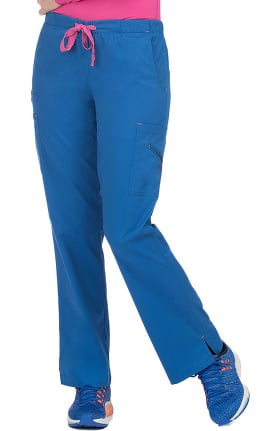 Med Couture Women's Mobility Bootcut Drawstring Scrub Pant