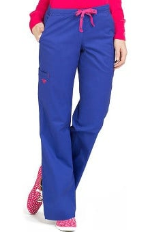 Clearance Med Couture Women's EZ Flex Jr Fit Moda Solid Scrub Pant