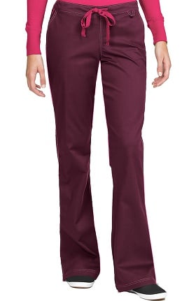 MC2 by Med Couture Women's Skyler Flare Leg Drawstring Scrub Pant