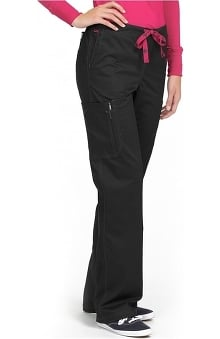 MC2 by Med Couture Women's Layla Flare Leg Cargo Scrub Pant