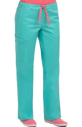 Clearance MC2 by Med Couture Women's Layla Flare Leg Cargo Scrub Pant
