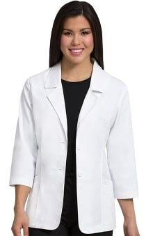 "Peaches Uniforms Women's Blazer Style 28"" Lab Coat"