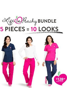 Life Is Peachy By Peaches Women's Promo 5 Piece Set