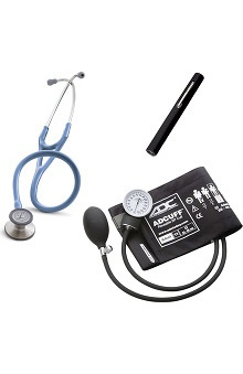 3M™ Littmann® Cardiology III™ Stethoscope With ADC® Phosphyg™ 760 Sphygmomanometer & Adlite Plus™ Penlight Kit