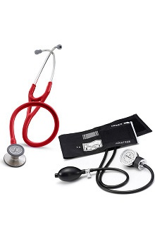 3M™ Littmann® Cardiology III™ Stethoscope With Prestige Medical Basics Aneroid Sphygmomanometer Kit