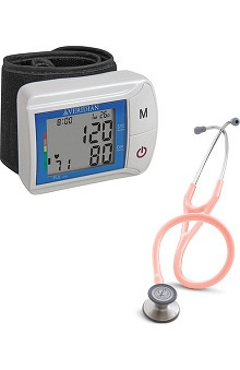 3M™ Littmann® Cardiology III™ Stethoscope & Veridian Healthcare DiGital Wrist Blood Pressure Monitor Kit