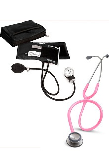 3M™ Littmann® Classic II S.E. Stethoscope & Prestige Medical Basics Aneroid Sphygmomanometer Kit