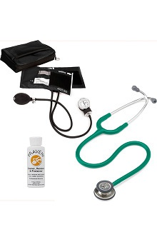 3M™ Littmann® Classic III™ & Prestige Medical Adult Sphygmomanometer With Matching Case & Praveni Cleaning Kit