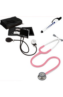 3M™ Littmann® Classic III™ & Prestige Medical Adult Sphygmomanometer With Matching Case & Quick Lites Penlight Kit