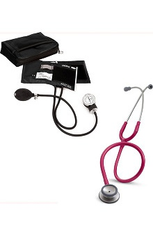 3M™ Littmann® Classic II S.E. Stethoscope With Prestige Medical Adult Sphygmomanometer & Matching Case Kit
