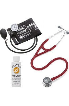 3M™ Littmann® Cardiology IV™ Stethoscope With ADC® Phosphyg™ 760 Sphygmomanometer & Praveni Cleaning Kit