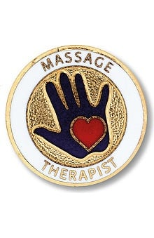 accessories: Prestige Medical Emblem Pin Massage Therapist