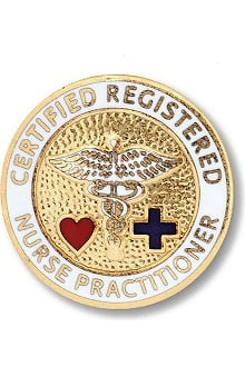 Prestige Medical Emblem Pin Certified Registered Nurse Practitioner
