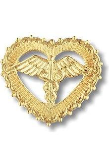 accessories: Prestige Medical Emblem Pin Caduceus