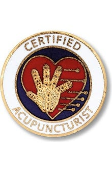 Prestige Medical Emblem Pin Certified Acupuncturist