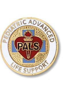 accessories: Prestige Medical Emblem Pin Pediatric Advanced Life Support