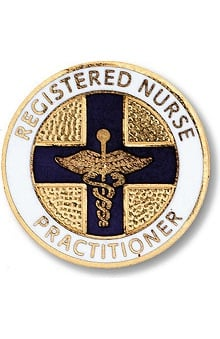 Prestige Medical Emblem Pin Registered Nurse Practitioner