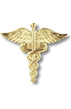 Prestige Medical Emblem Pin Caduceus