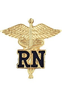 Gifts Accessories new: Prestige Medical RN - Registered Nurse (Letters On Caduceus) Pin