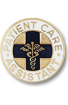 Prestige Medical Emblem Pin Patient Care Assistant