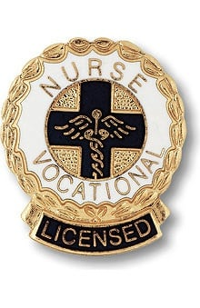 Prestige Medical Emblem Pin Licensed Vocational Nurse