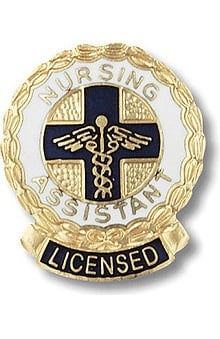 Prestige Medical Emblem Pin Licensed Nursing Assistant