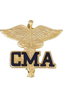 accessories: Prestige Medical Emblem Pin Certified Medical Assistant