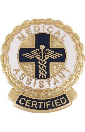 Prestige Medical Emblem Pin Certified Medical Assistant