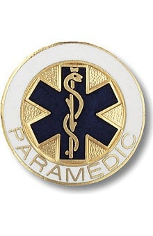 Prestige Medical Paramedic (Star Of Life Design) Pin
