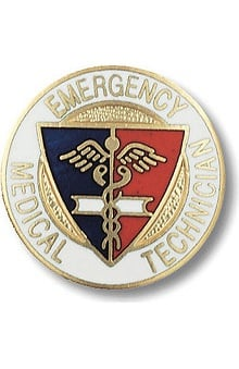 accessories: Prestige Medical Emblem Pin Emergency Medical Technician