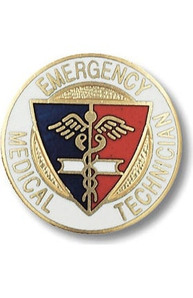 Prestige Medical Emblem Pin Emergency Medical Technician