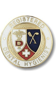Prestige Medical Dental Hygienist, Registered Pin