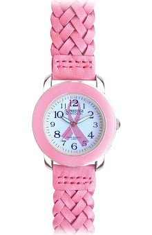Prestige Medical Women's Woven Leather Band Fashion Watch