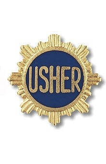 Prestige Medical Emblem Pin Usher