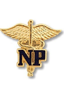 accessories: Prestige Medical Emblem Pin Nurse Practitioner