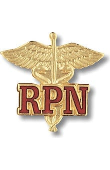Prestige Medical Emblem Pin Registered Practical Nurse