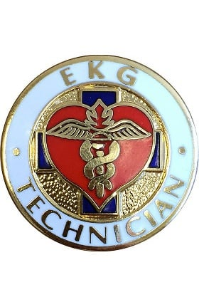 Prestige Medical Technician Pin Ekg