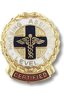nursing assistants : Prestige Medical Emblem Pin Certified Nursing Assistant Level II