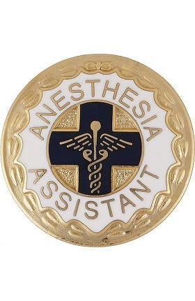 Prestige Medical Emblem Pin Anesthesia Assistant