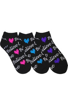Prestige Medical Women's Fashion Socks - 3 Pack