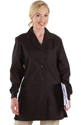 """Prestige Medical Women's Belted Back 32"""" Fashion Lab Coat"""