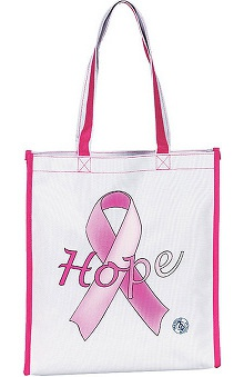 pink ribbon accessories: Prestige Medical Nylong Canvas Tote
