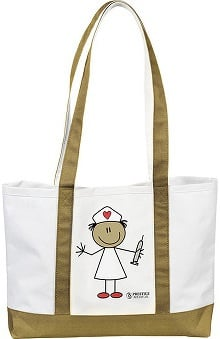 LGE: Prestige Medical Large Canvas Tote Bag